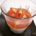 苺のヨーグルトハニームース